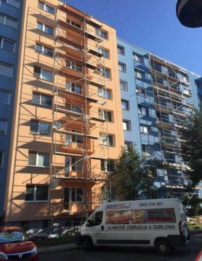 Alufix - balkonove zabradlia 2 - Zvolenska ulica (13)