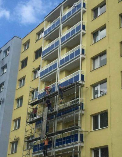 Alufix - balkonove zabradlia 2 - Zvolenska ulica (6)