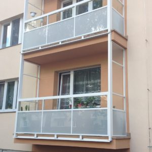 alufix balkonove zabradlia - severna ulica
