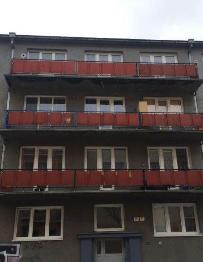 Alufix hlinikove balkonove zabradlia stefanikova ulica zilina- pred ralizaciou 2019