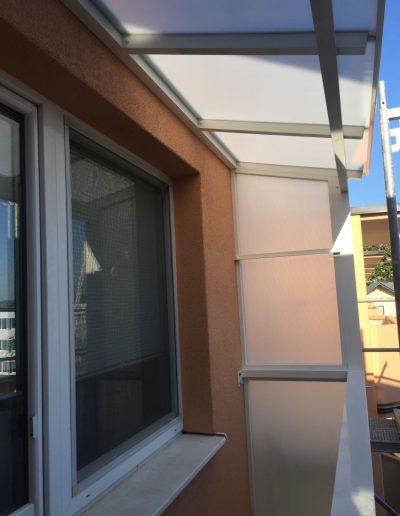 Alufix hlinikove balkonove zabradlia Senica Stefanikova ulica - pristresky
