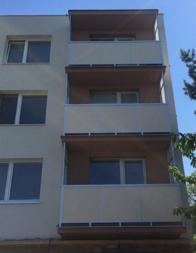 Alufix hlinikove balkonove zabradlia Holíč - Pri kaštieli