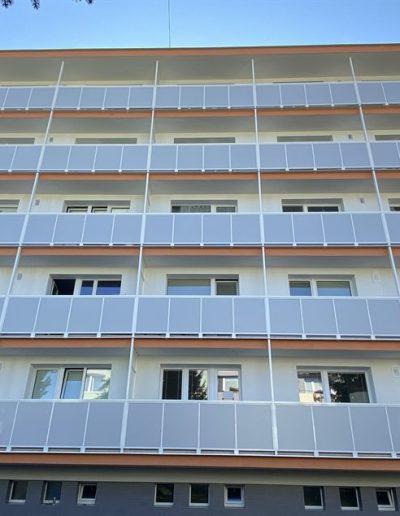 Alufix hlinikove balkonove zabradlia Lietavská Lúčka - Lučanská ulica