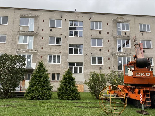 Alufix hlinikove balkonove zabradlia Rajecké teplice - Školská ulica