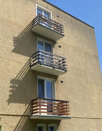 Alufix hlinikove balkonove zabradlia Strečno - Kamenná ulica