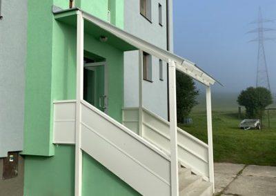 Alufix hlinikove balkonove zabradlia, ploty a pristresky - Brezany- prístrešok